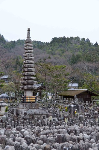 The Many Buddha of Adashino Nenbetsu Temple in Kyoto