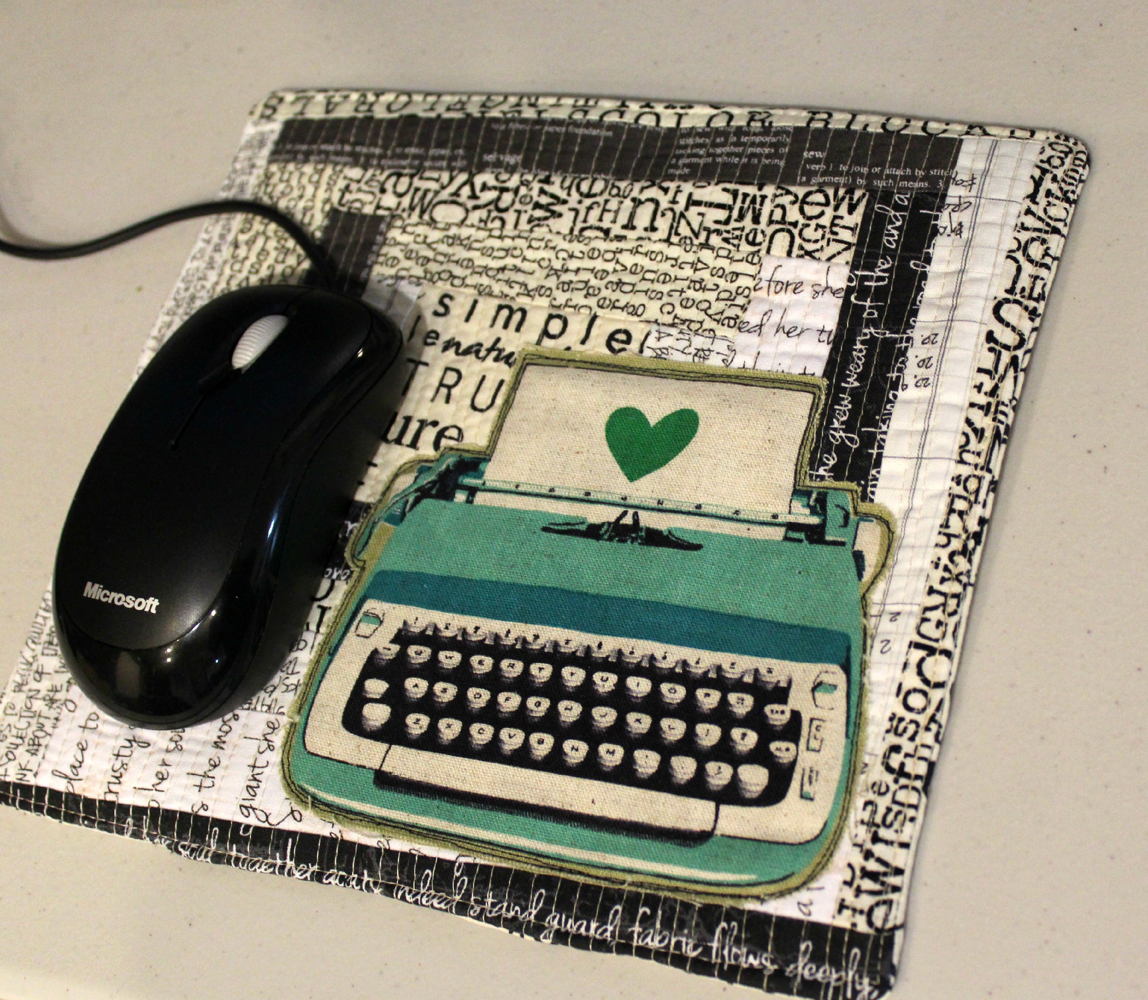Quilted Mousepad