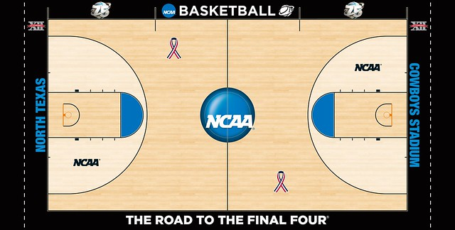 Ncaa court database page 2 concepts chris creamer 39 s for Custom basketball court cost
