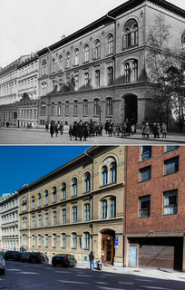 Gothenburg, Vasastan 1922 / 2013