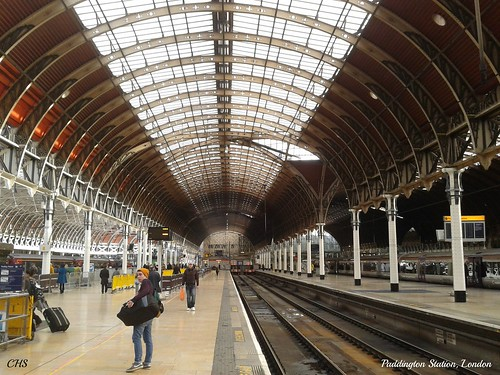 Paddington Station, London by Stocker Images