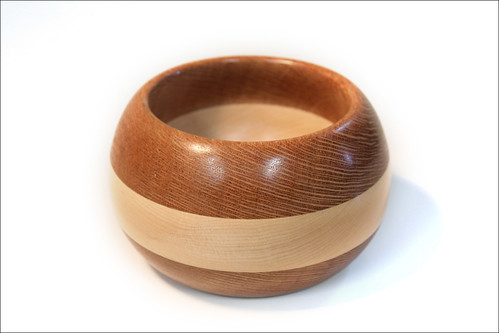 Lacewood and Maple Bowl