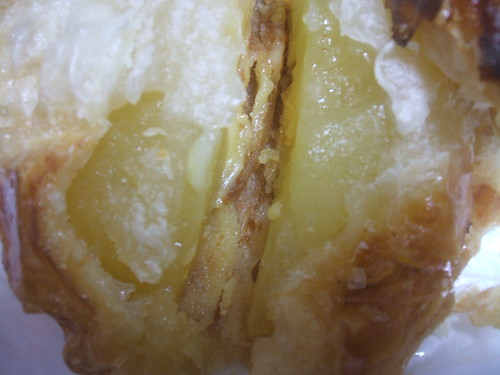 神戸屋レストラン「国産りんごのアップルパイ」中身