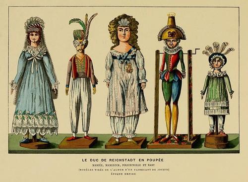 023- Muñecos del duque de Reichstadt-Histoire des jouets….1902- Henry René d' Allemagne