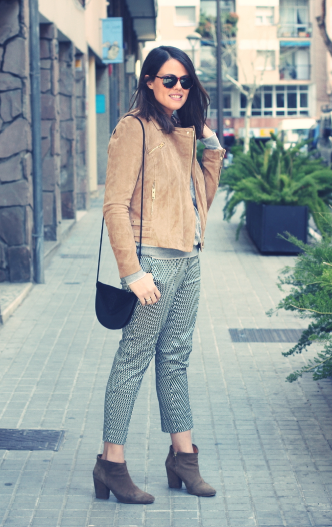Look pantalones estampados - Monicositas