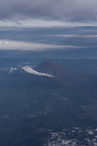 sky cloud mountain japan volcano aerialview mountfuji