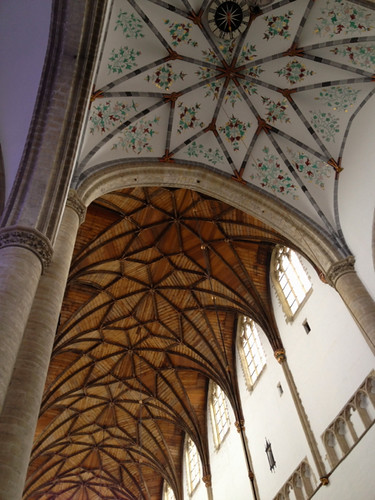 Haarlem - St Bavo ceiling