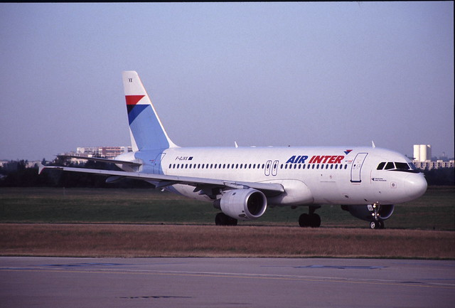 F-GJVX Airbus A320-211 Air Inter (LFPO 1994-09-24) [sA0773]