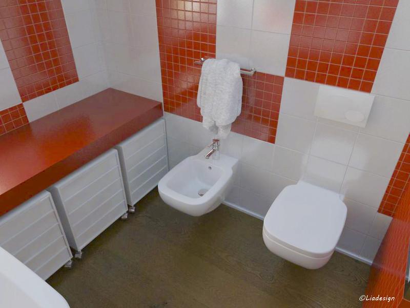 Parquet in bagno e rivestimenti pareti mammeonline - Profilo rivestimento bagno ...