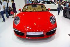 Porsche 911 Carrera S Cabriolet at the 34th Bangkok International Motor Show