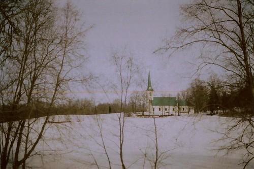 winter snow film church spring canonae1program