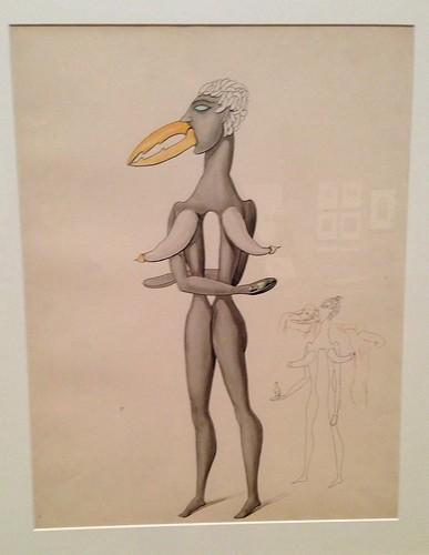 Victor Brauner, Anatomie du désir, 1913
