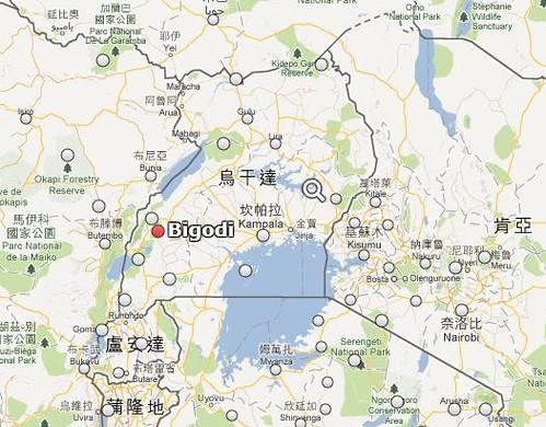 畢鉤蒂村位置圖