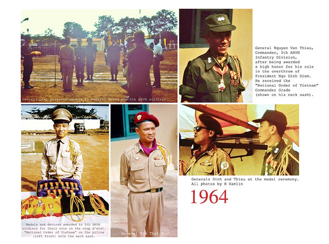 1964 - Gen. Thieu medal ceremony