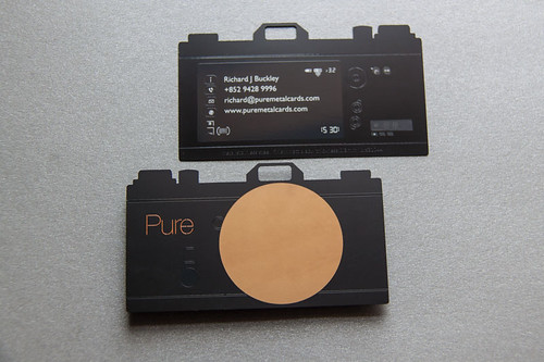 Pure Metal Cards Camera Card