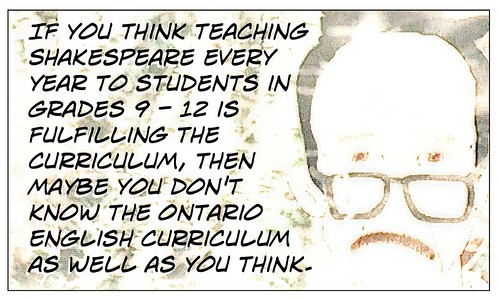 Do you know the curriculum?