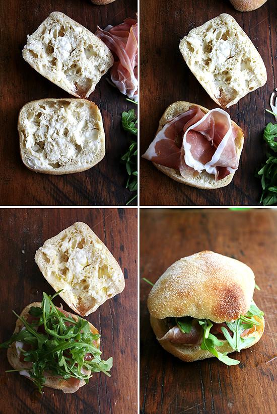 assemblingthesandwiches
