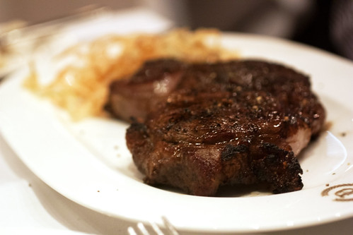delmonico steak @ delmonico's