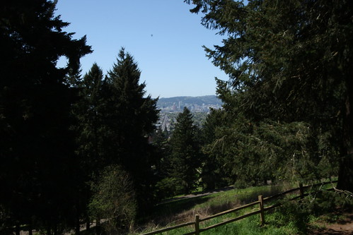 Portland from Mt Tabor Park