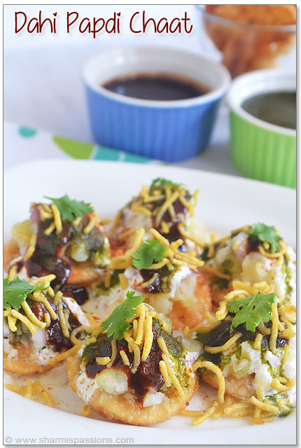 Dahi Papdi Chaat Recipe - Step1