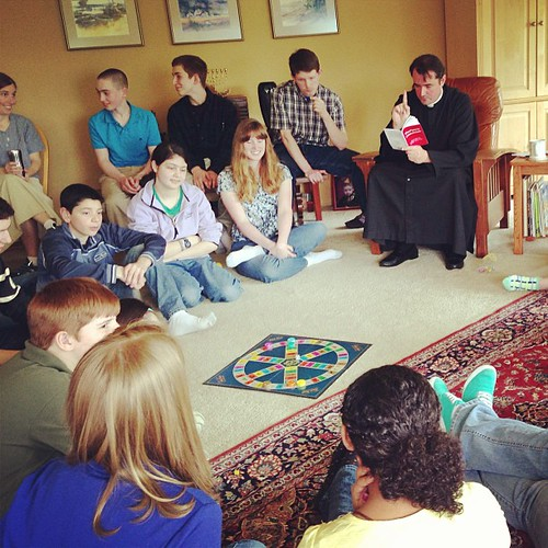 Catholic Trivial Pursuit  with Fr. Harkins