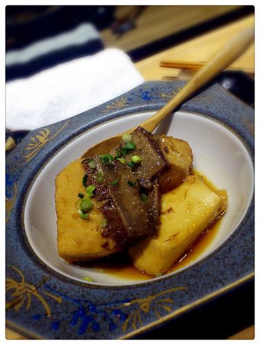 昇壽司_燉鰤魚肉