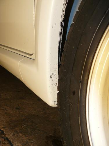 Peugeot 106 wheel arch