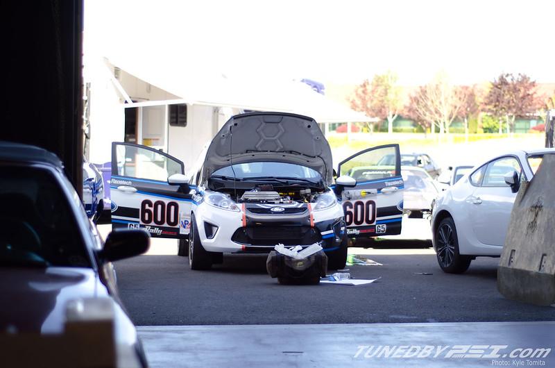 VanWay Racing Ford Fiesta at PSI