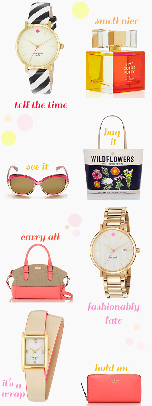 Kate Spade Summer Wish List