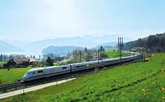 Mezinárodní vlaky do Švýcarska