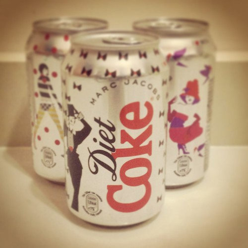 diet coke - marc jacobs limited edition