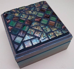 Mosaic Box by Terry Foreman