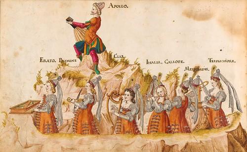 007-Sobre las siete artes liberales-Descripción de las ocho festividades celebradas durante los juegos…1596-Biblioteca Estatal de Baviera