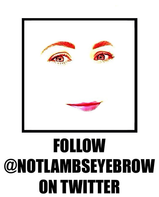 Twitter Not Lamb's Eyebrow