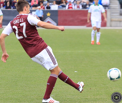 Shane O'Niell (Rapids), Colorado Rapids Host Portland Timbers at Dick's Sporting Goods Park Colorado by Corbin Elliott Photography