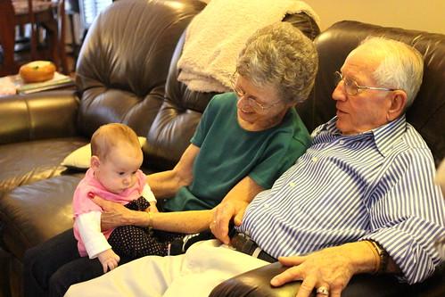 Great-Grandparents Visit