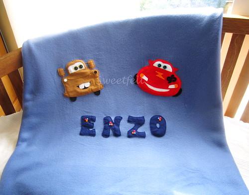 ♥♥♥ A mantinha do Enzo... by sweetfelt \ ideias em feltro