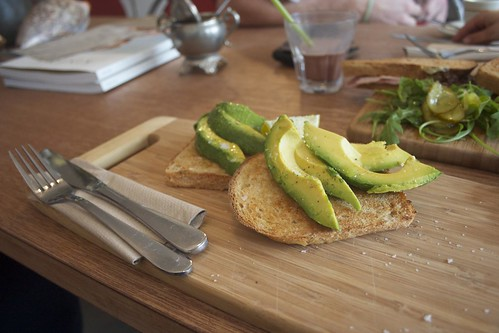 avocado on sourdough - At all and sundry, Woonona