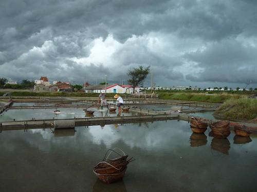 近年的洲南鹽場。    照片提供:布袋嘴文化協會