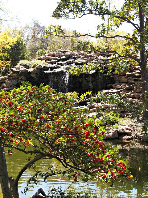 Waterfall Overlook at Fort Worth Japanese Garden