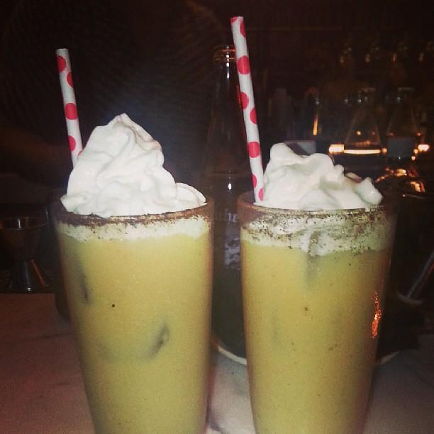 Goldie's Not Irish Coffee cocktails by Caroline on Crack