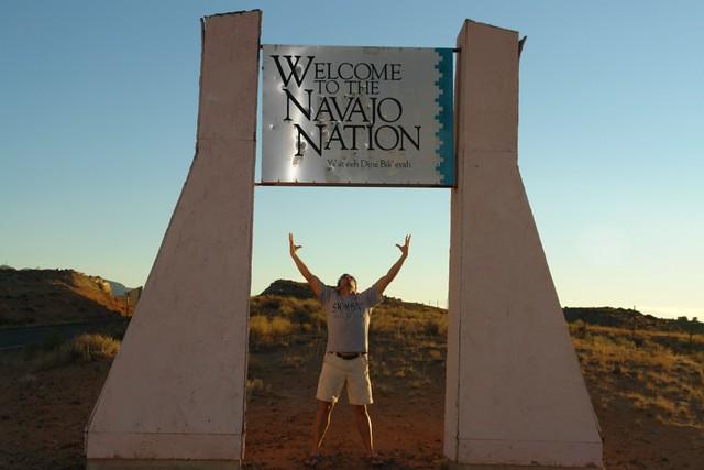 El Monumento pertenece a la Navajo Nation y no a los parques nacionales Four Corners, cómo estar en cuatro estados a la vez - 8769998762 038efb78a4 z - Four Corners, cómo estar en cuatro estados a la vez