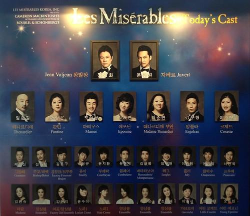 Les Misérables @ Blue Square, Seoul