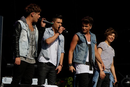 Union J @ Victoria Park for As One in the Park