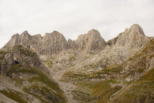 mountain landscape peaks albania albanija planina pejzaž vrhovi prokletije mtprokletije