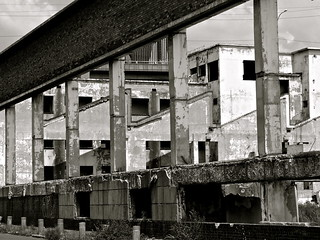Derelict buidings, Johannesburg
