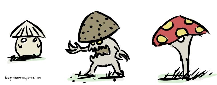 shroom mushroom monster