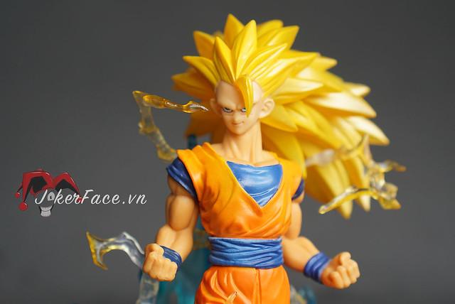 Mô hình Goku Super Saiyan 3 battle - Dragon Ball