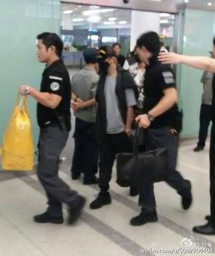 BIGBANG GDTOPDAE arrival Hangzhou 2015-08-25 138