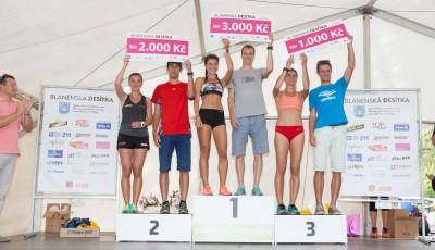 Blanenská desítka přilákala tisíc sportovců